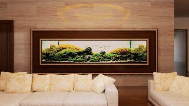 Photo of Thiết kế bể thủy sinh âm tường Penthouse Ocean Lê Văn Lương