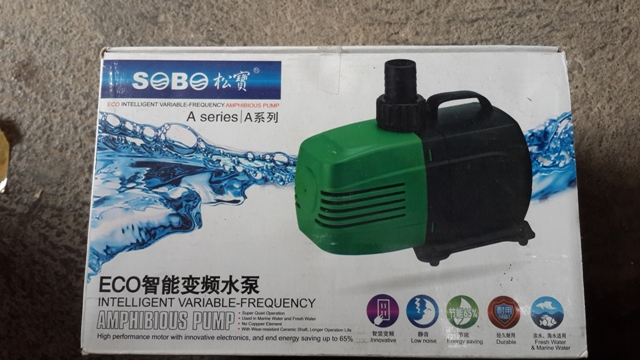 Hình ảnh máy bơm bể cá Sobo