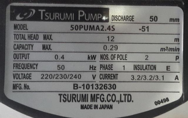 Hình ảnh máy bơm Nhật Bản Tsurumi