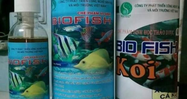 Hình ảnh men vi sinh biofish