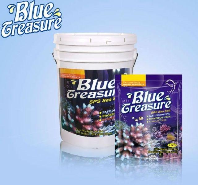 Hình ảnh muối tím Blue Treasure