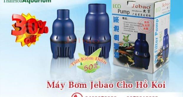 Hình ảnh máy bơm hồ koi Jebao