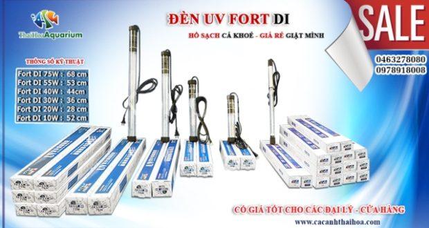 Hình ảnh đèn UV Fort DI diệt tảo - diệt khuẩn