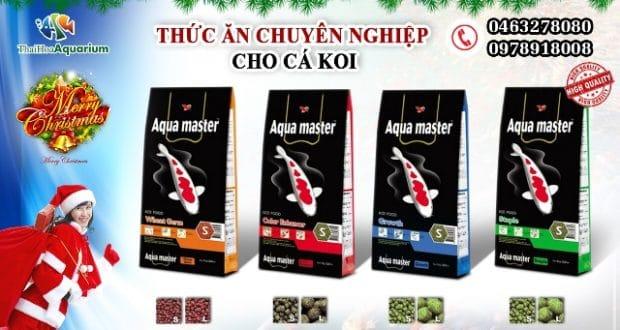 Hình ảnh Thức ăn cá Koi Aqua master Đài Loan