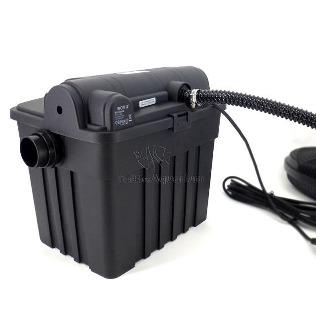 Hình ảnh Kết nối máy bơm và thùng lọc