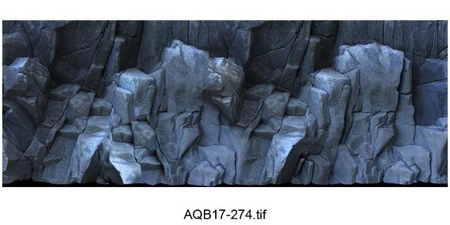 Hình ảnh Tranh 3D vách đá 18