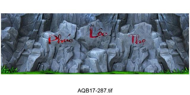 Hình ảnh Tranh 3D vách đá 14