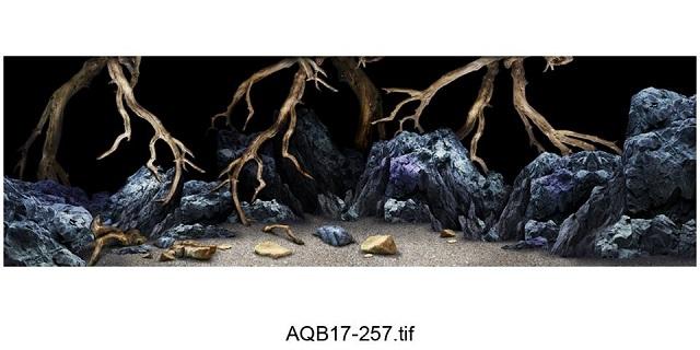 Hình ảnh Tranh 3D vách đá 05
