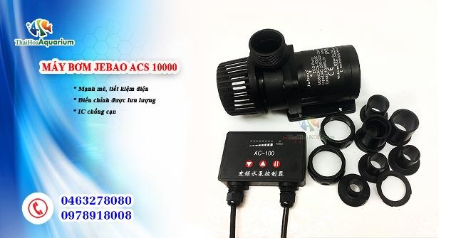 Hình ảnh Máy bơm tiết kiệm điện Jebao ACS 10000
