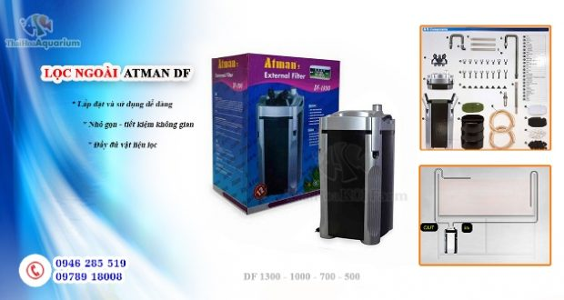 Hinh ảnh Máy lọc ngoài Atman DF seri