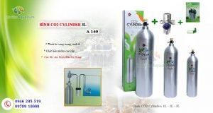 Hình ảnh Bình CO2 Cylinder cho bể thủy sinh