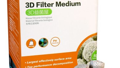 Photo of Aqua Clean 3D Filter Medium – Vật liệu lọc nước bể cá cao cấp