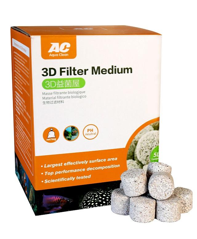Hình ảnh Gốm Lọc AC 3D Filter Medium
