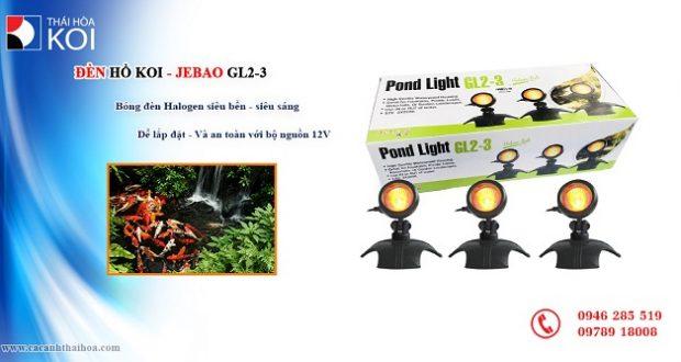 Hình ảnh Đèn Hồ Koi Jebao GL2-3