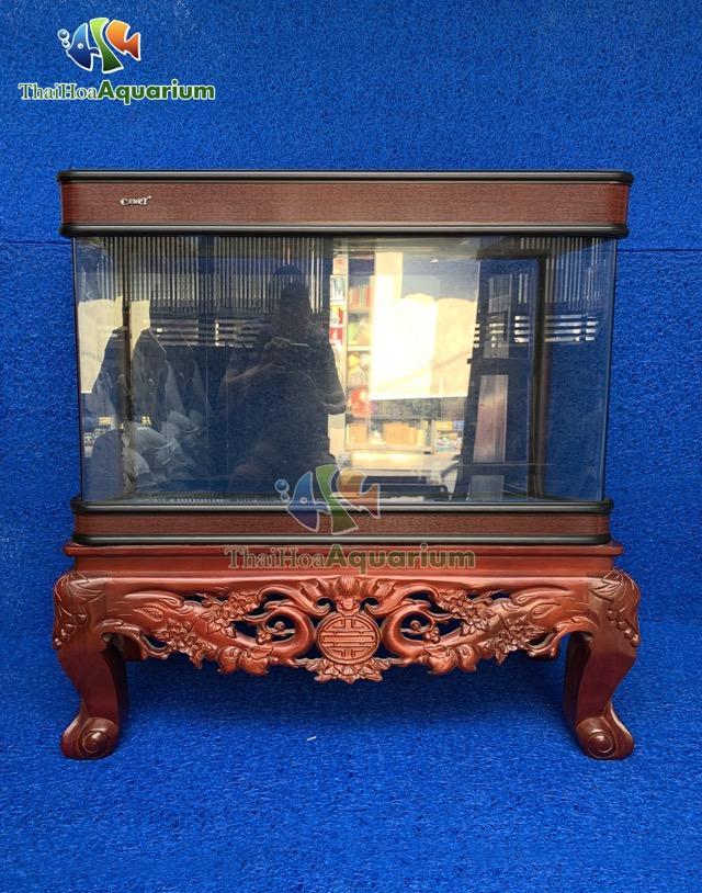 Hình ảnh Bể Đúc Camry R3 120cm Mẫu Chân Quỳ Đục Thủng