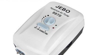 Photo of Máy sủi khí bể cá tích điện Jebo 9970