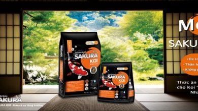 Hình ảnh Thức Ăn Cá Koi Sakura High Growth