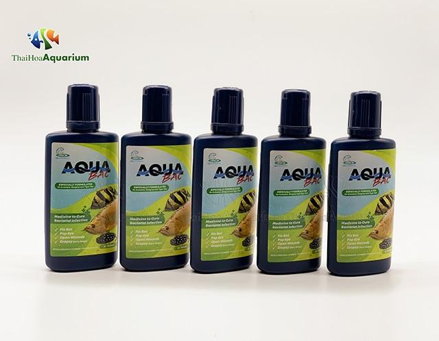 Hình ảnh Bao bì mới của thuốc cá rồng Aqua Bac