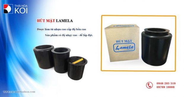 Hình ảnh Hút Mặt Hồ Koi Lamela