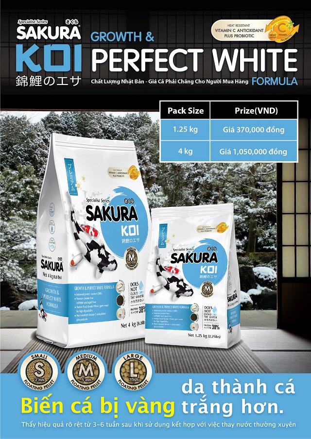 Hình ảnh Bảng giá của Sakura Perfect White