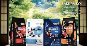 Hình ảnh Bộ sản phẩm Sakura cho cá koi