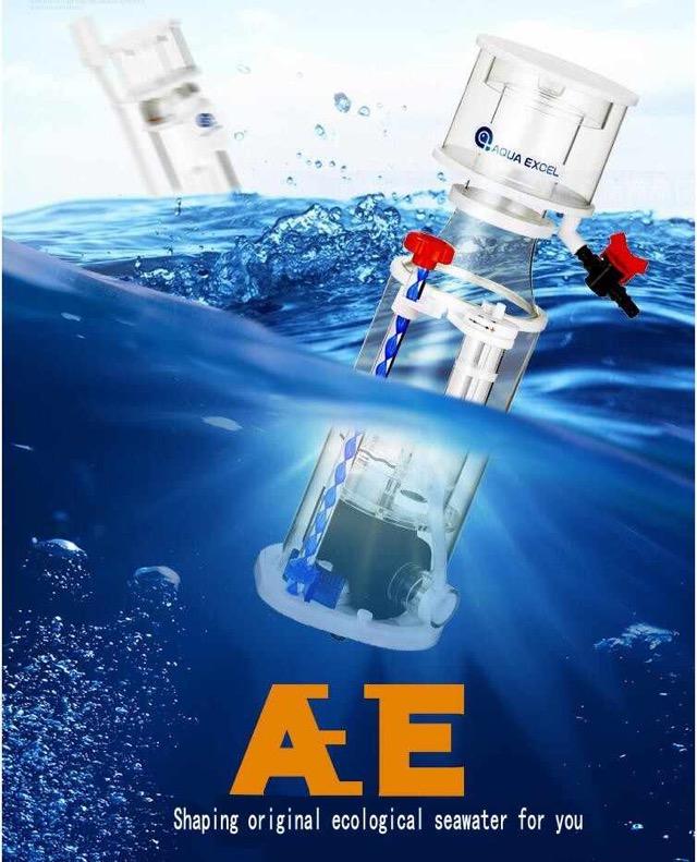 Hình ảnh Aqua Excel AE-801 rất mạnh mẽ trong tách bọt