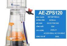 Hình ảnh Aqua Excel AE-ZPS120 cho bể 2500L