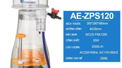 Photo of Máy tách bọt Protein Skimmer Aqua Excel AE-ZPS120 cho bể 2500L