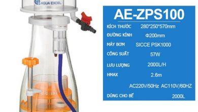 Photo of Máy tách bọt Protein Skimmer Aqua Excel AE-ZPS100 cho bể 2000L