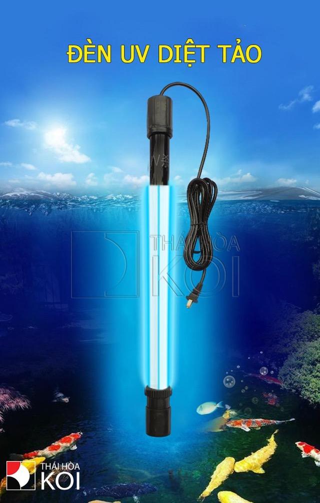 Hình ảnh Đèn UV Baoyu BY-188 diệt rêu tảo rất mạnh mẽ
