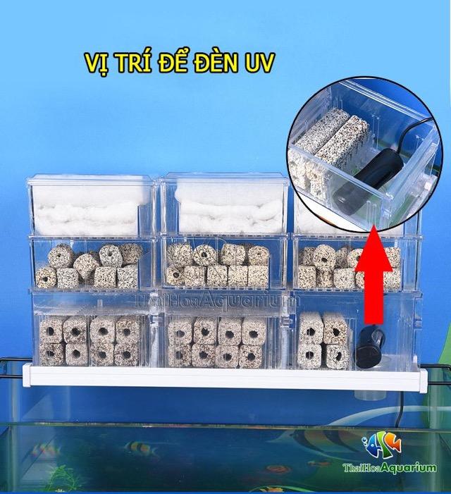 Hình ảnh Đèn UV Baoyu BY thích hợp với hệ thống lọc tràn