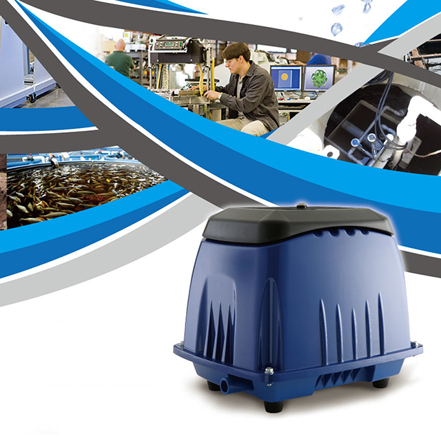 Hình ảnh Máy sủi khí hồ koi AIRMAC
