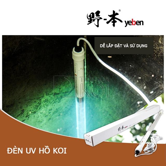Hình ảnh Đèn UV Yeben YBUV với độ chuyển hoá rất cao