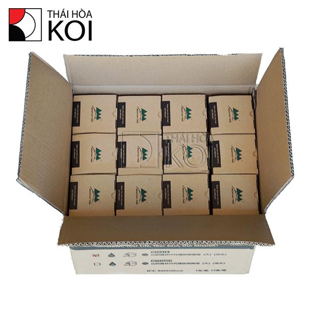 Hình ảnh 1 thùng sứ được đóng gói 12 thanh