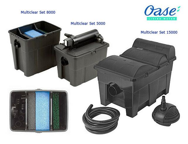 Hình ảnh Lọc Thùng Hồ Koi MultiClear Set Series