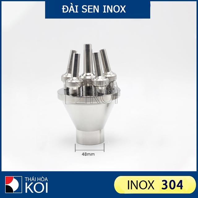Đầu Phun Inox Sen 01