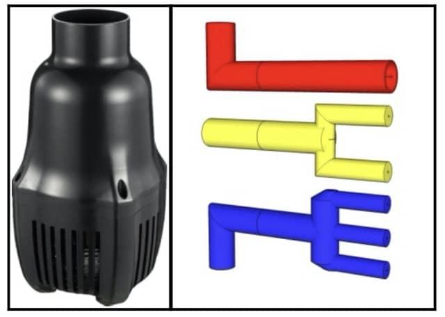 Hình ảnh Cách đấu ống máy bơm đúng