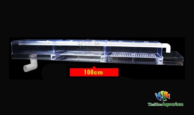 Hình ảnh Máng lọc tràn trên cho bể 100cm