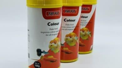 Hình ảnh Thức ăn cho cá cảnh nhỏ Taiyo Color