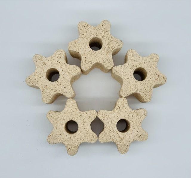Hình ảnh Cấu trúc cánh hoa giúp tăng lưu thông nước qua vật liệu