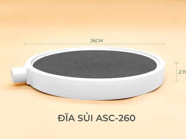 Hình ảnh Đĩa sủi khí oxy ASC-260