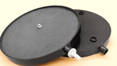 Hình ảnh Đầu ra khí kết nối với dây mềm hoặc ống cứng đều được