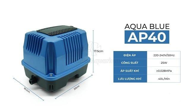Hình ảnh Thông số máy AP-40